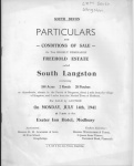 South Langston Sale 1941