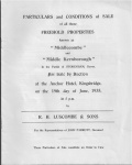 Middlecombe & Middle Kernborough  Sale 1935