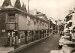 The Shambles and Fore Street in the mid 1960s
