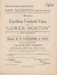 Lower Norton, East Allington