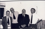 Egremont Party Ted Pearce Bob Riding Dick Martin