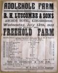 Addlehole Farm.