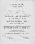 Magnolia Cottage & Smithy Sale 1943